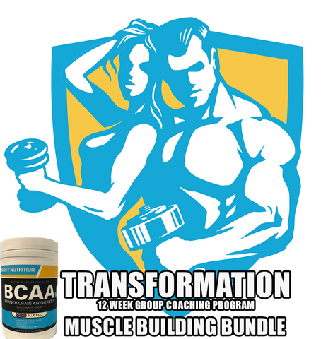 NYMR Transformation! 12 Week Group Coaching Program + MUSCLE BUILDING BONUS