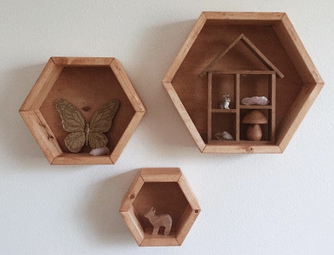 Spotted :: The Honeycomb Shelf