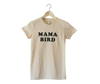 54e43566 Mama Bird t-shirt by The Bee and The Fox - The Little Movement Shop ...
