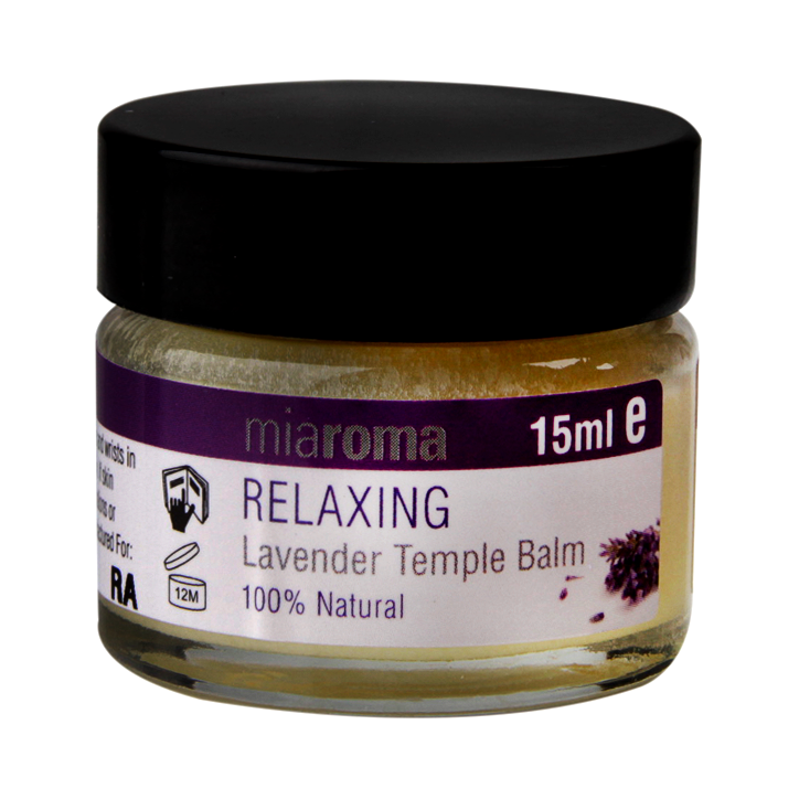 Miaroma Relaxing Lavender Temple Balm 15ml
