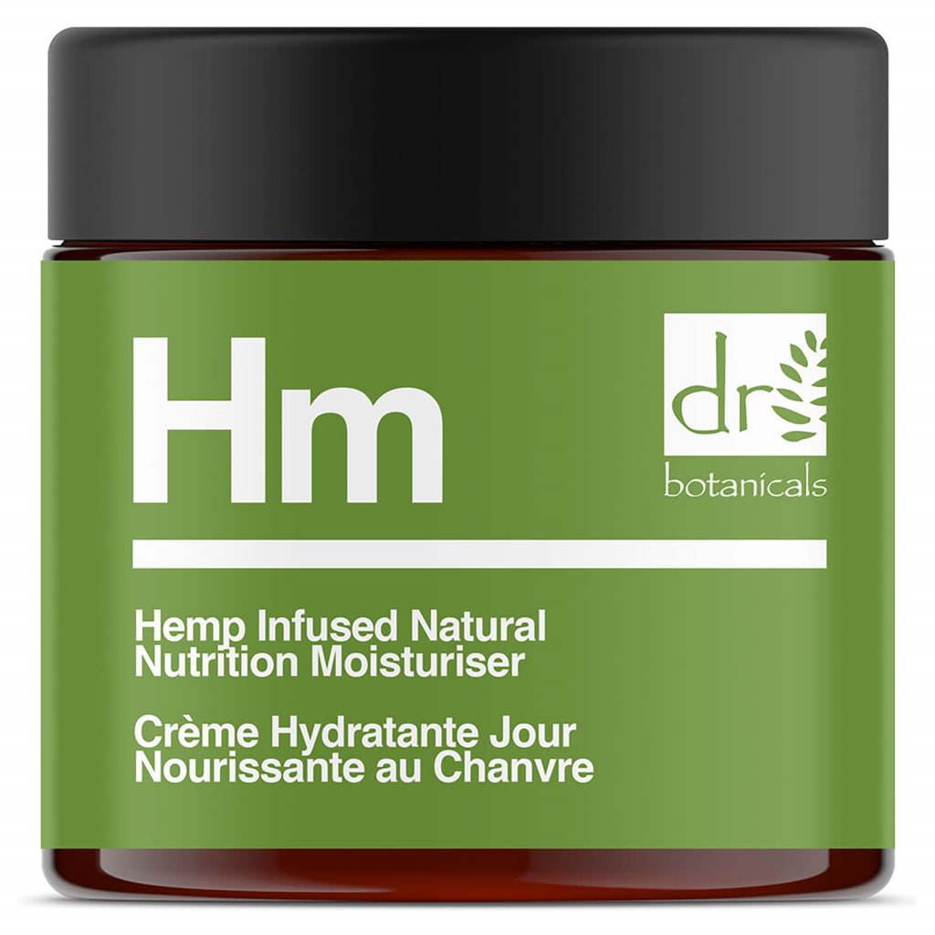 Dr Botanicals Hemp Natural Nutrition Moisturiser 50ml