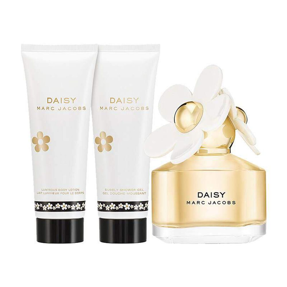 Marc Jacobs Daisy Gift Set 50ml EDT + Body Lotion 75ml + Shower Gel 75ml