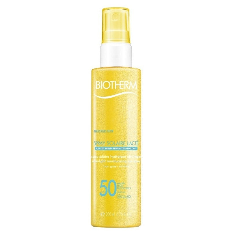 Biotherm Sea Sun Wind Repair Spray Solaire Lacté Ultra-Light Spray SPF50 200ml