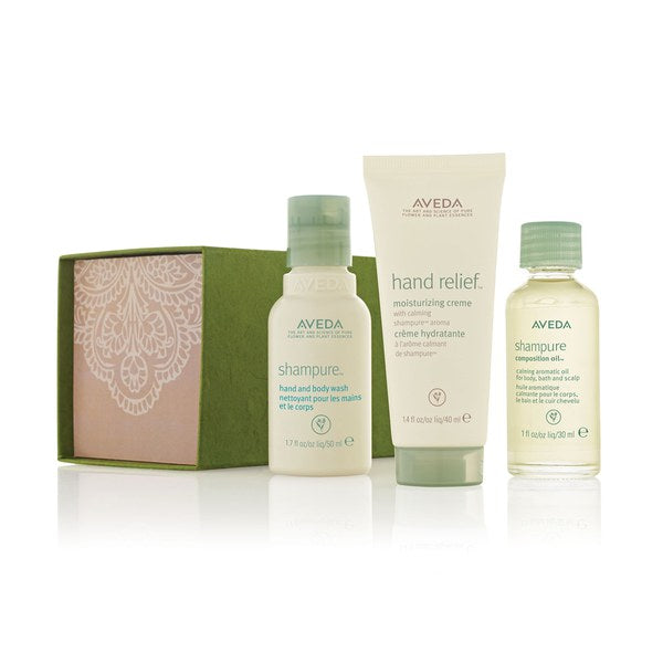 Aveda A Peaceful Journey Is A Gift Set