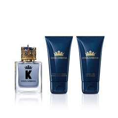 Dolce & Gabbana K 3 Piece 50ml EDT + Aftershave Balm 50ml + Shower Gel 50ml