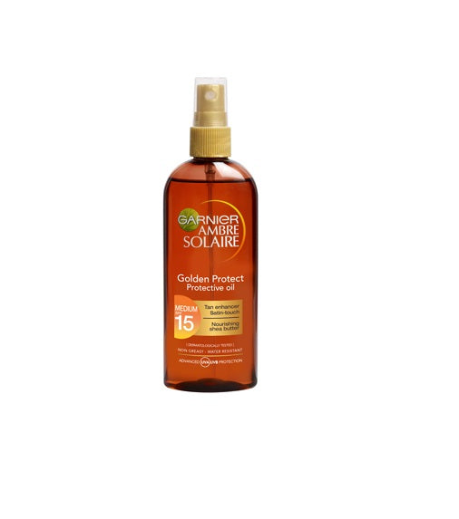 Garnier Ambre Solaire Golden Protect Sun Oil SPF15 150ml