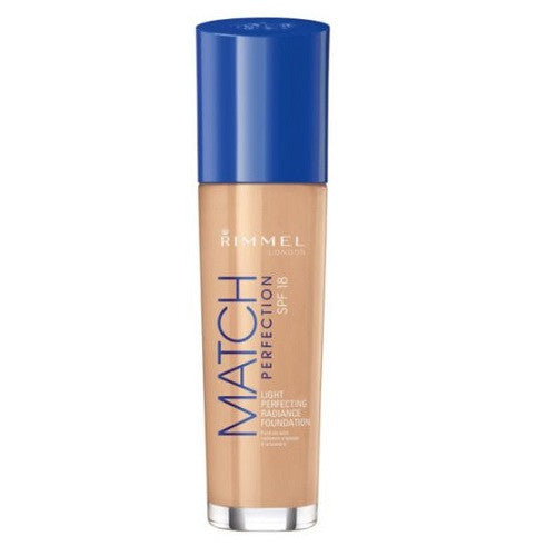 Rimmel Match Perfect Foundation - Light Porcelain - Look Incredible