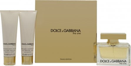 Dolce & Gabbana The One Gift Set 75ml EDP + 50ml Body Lotion + 50ml Shower Gel