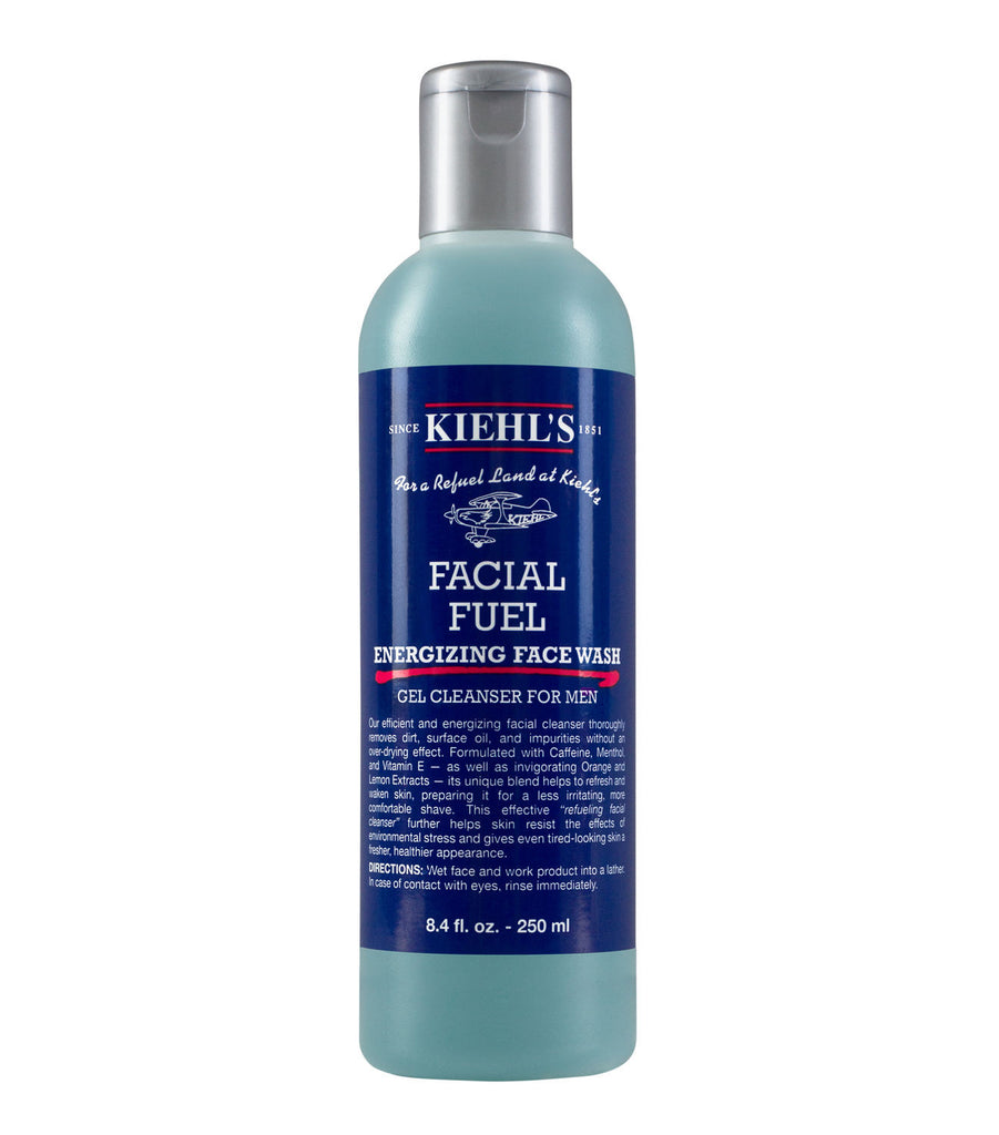 Kiehl's Facial Fuel Energizing Face Wash Gel Cleanser 250ml - Look Incredible