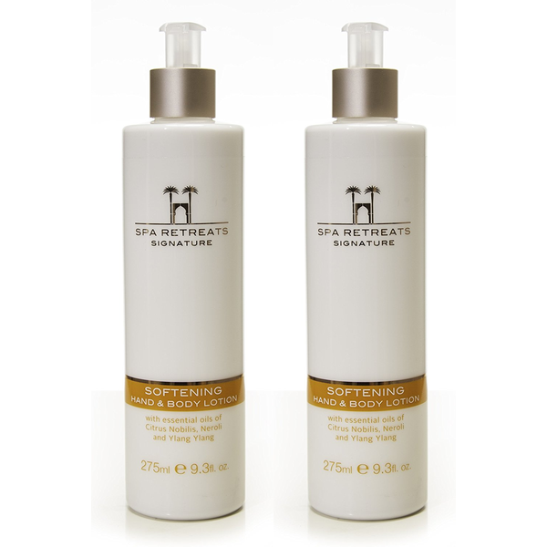 Spa Retreats Signature Softening Hand & Body Lotion 275ml (Set of 2)