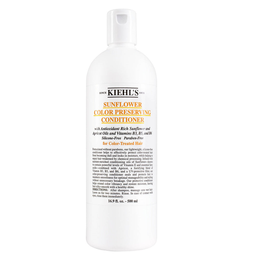 All Tagged Conditioner Look Incredible Kiehls Amino Acid Sunflower Colour Preserving 500 Ml