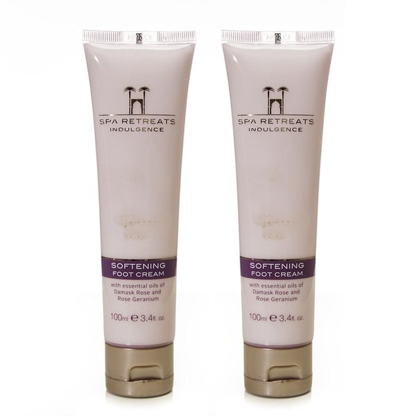 Spa Retreats Indulgence Softening Foot Cream 100ml (Set of 2)