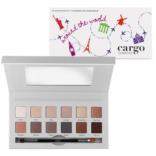 Cargo Around The World Eye Shadow Palette - Look Incredible