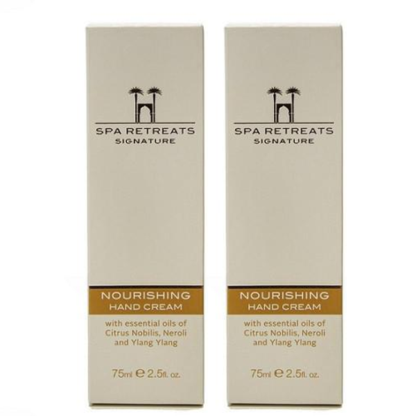 Spa Retreats Signature Nourishing Hand Cream 75ml (Set of 2)