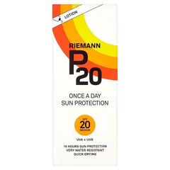 Riemann P20 Once A Day Sun Protection Lotion SPF20 200ml - Look Incredible
