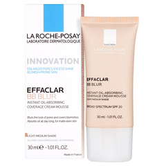 La Roche-Posay Innovation Effaclar BB Blur Cream Mousse 30ml - Look Incredible