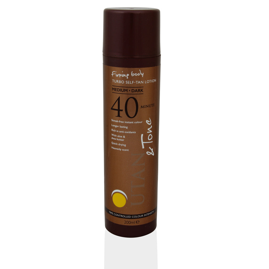 UTan and Tone Turbo Self-Tan Lotion 200ml - Look Incredible