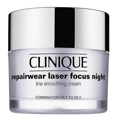 Clinique Repairwear Laser Focus Night Line Smoothing Cream 50ml - Look Incredible
