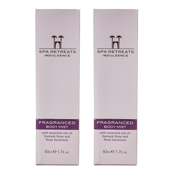 Spa Retreats Indulgence Fragranced Body Mist 50ml (Set of 2)