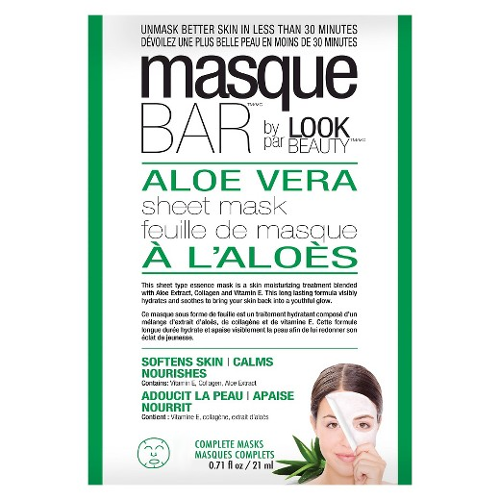 Masque Bar by Look Beauty Aloe Vera Sheet Mask 21ml