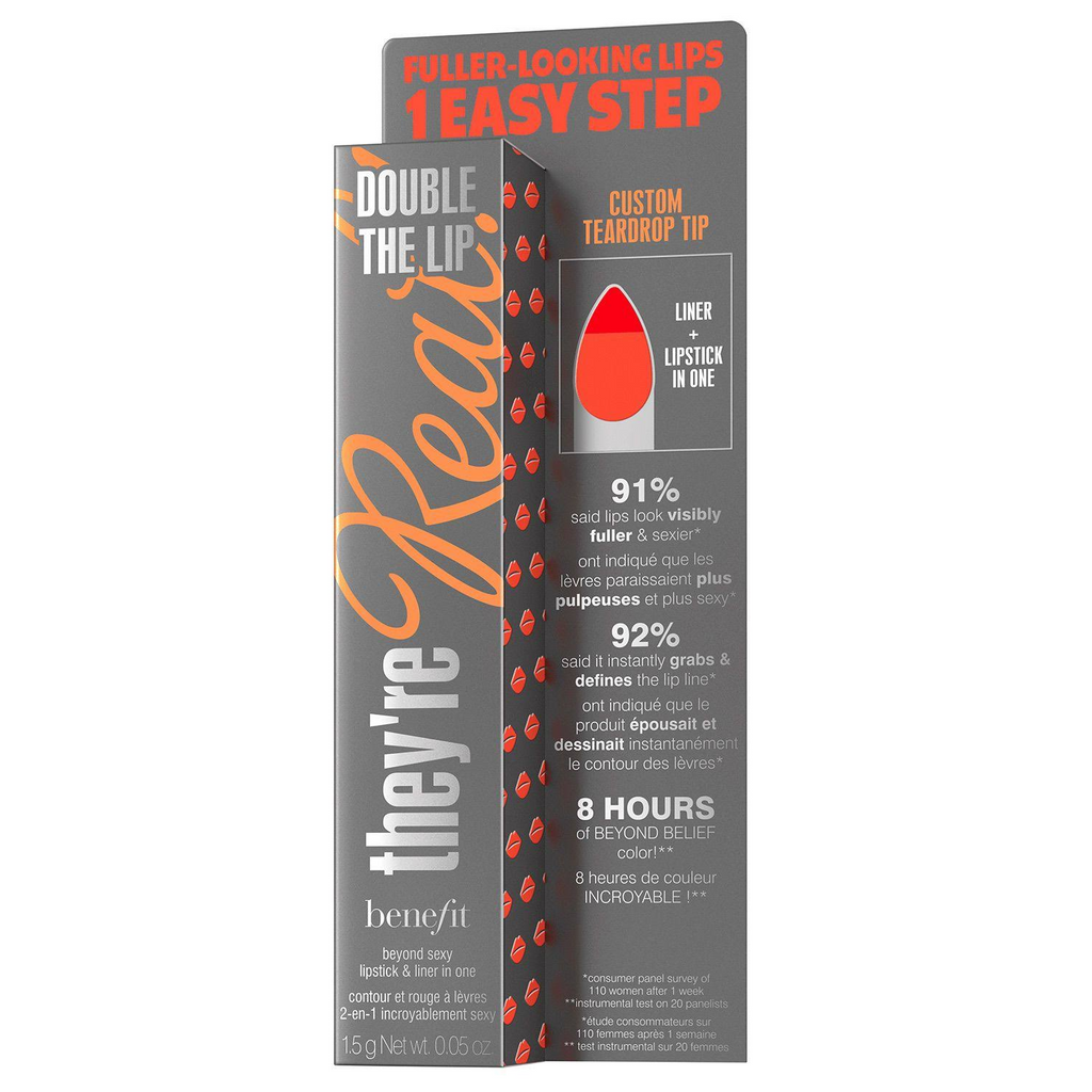 Benefit They're Real Double The Lip Lipstick & Liner