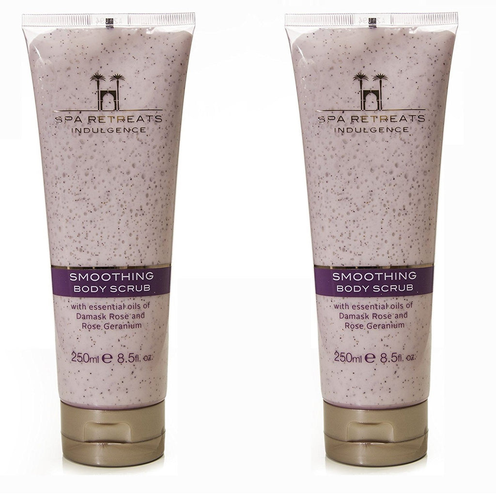 Spa Retreats Indulgence Smoothing Body Scrub 250ml (Set of 2)