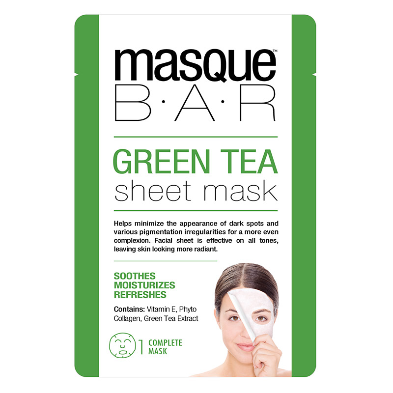 Masque BAR Green Tea Sheet Mask x1