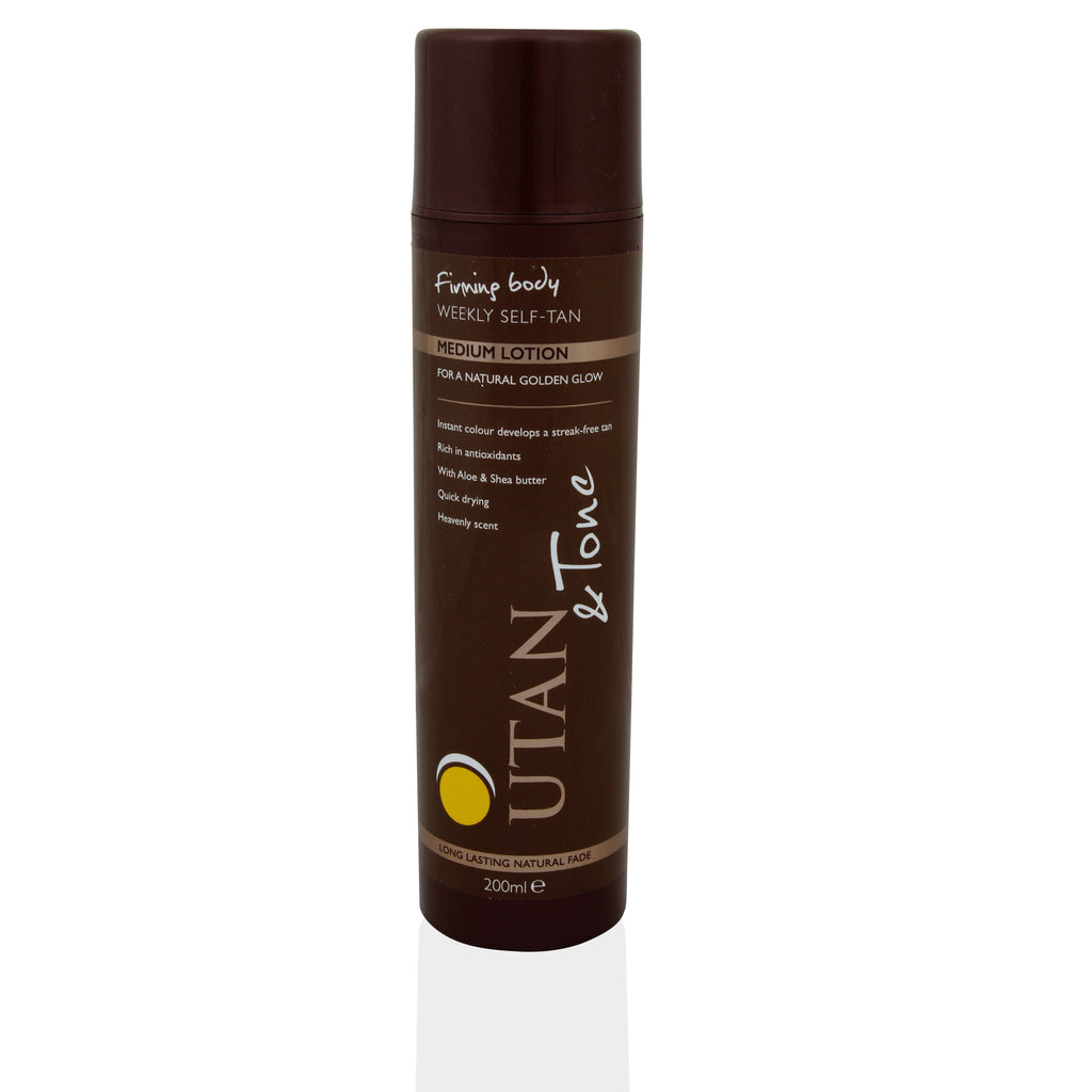 UTan and Tone Weekly Self-Tan Lotion 200ml - Medium - Look Incredible