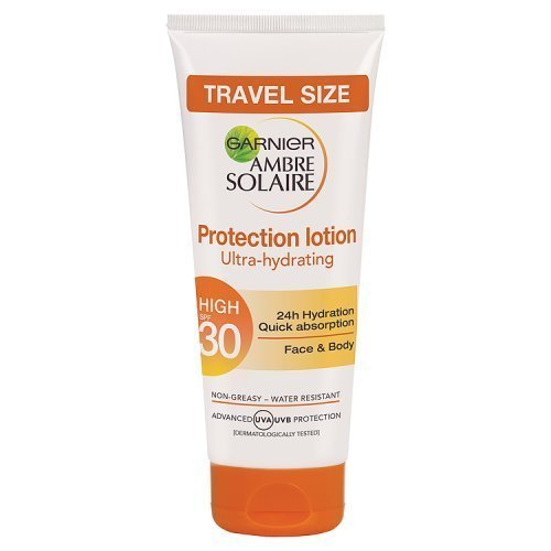 Garnier Amber Solaire Protection lotion Ulta-hydrating 50ml Travel size