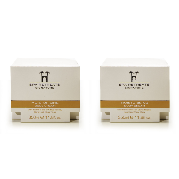 Spa Retreats Signature Moisturising Body Cream 350ml (Set of 2)