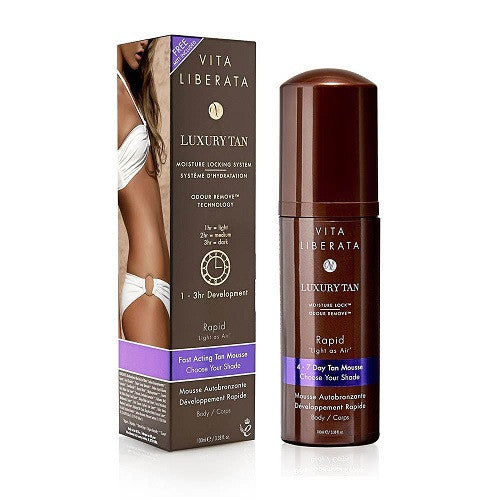 Vita Liberata Rapid Self Tanning Tinted Mousse 100ml - Look Incredible