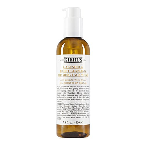 Kiehl's Calendula Deep Cleansing Foaming Face Wash 500ml - Look Incredible