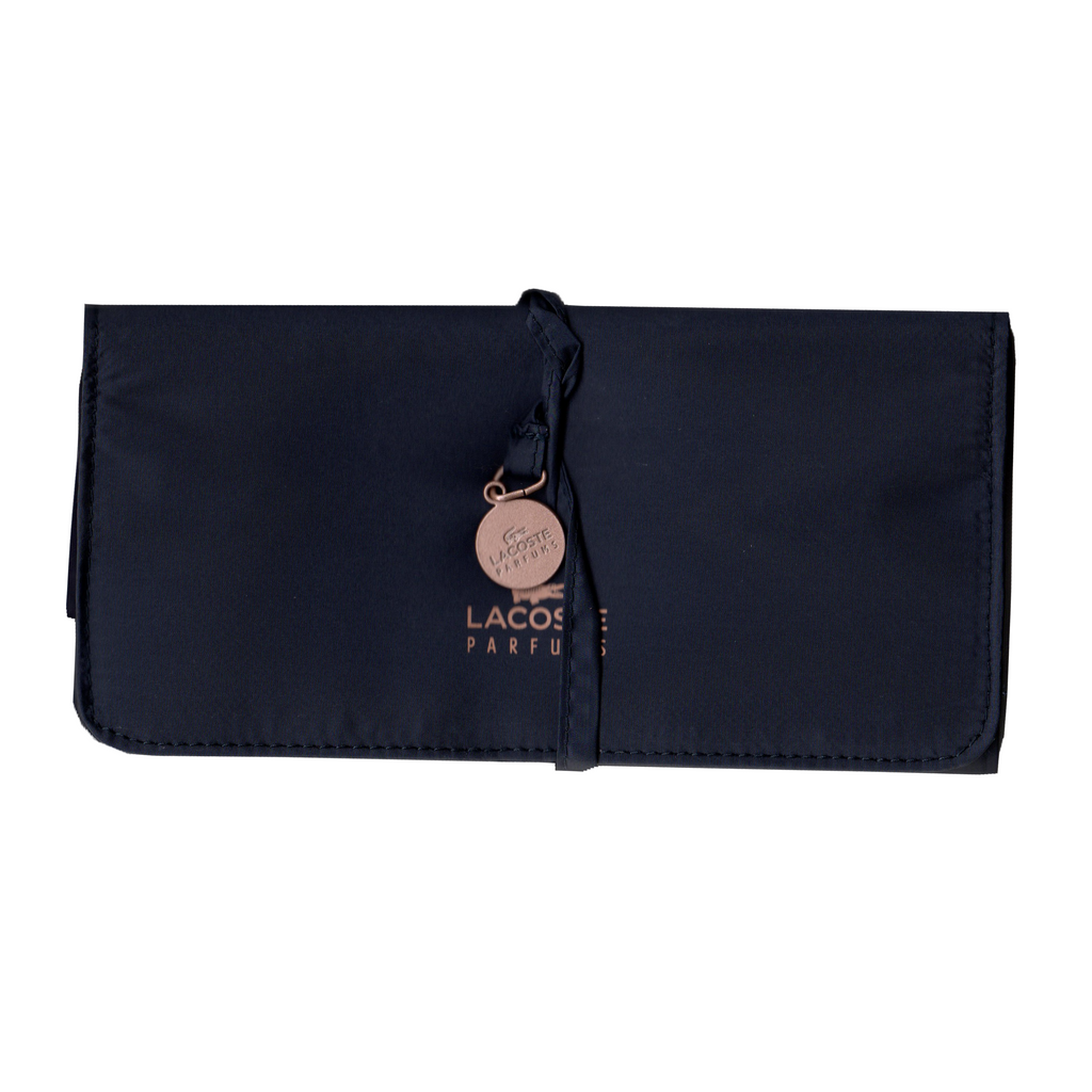 Lacoste Parfums Navy Blue Jewellery Pouch