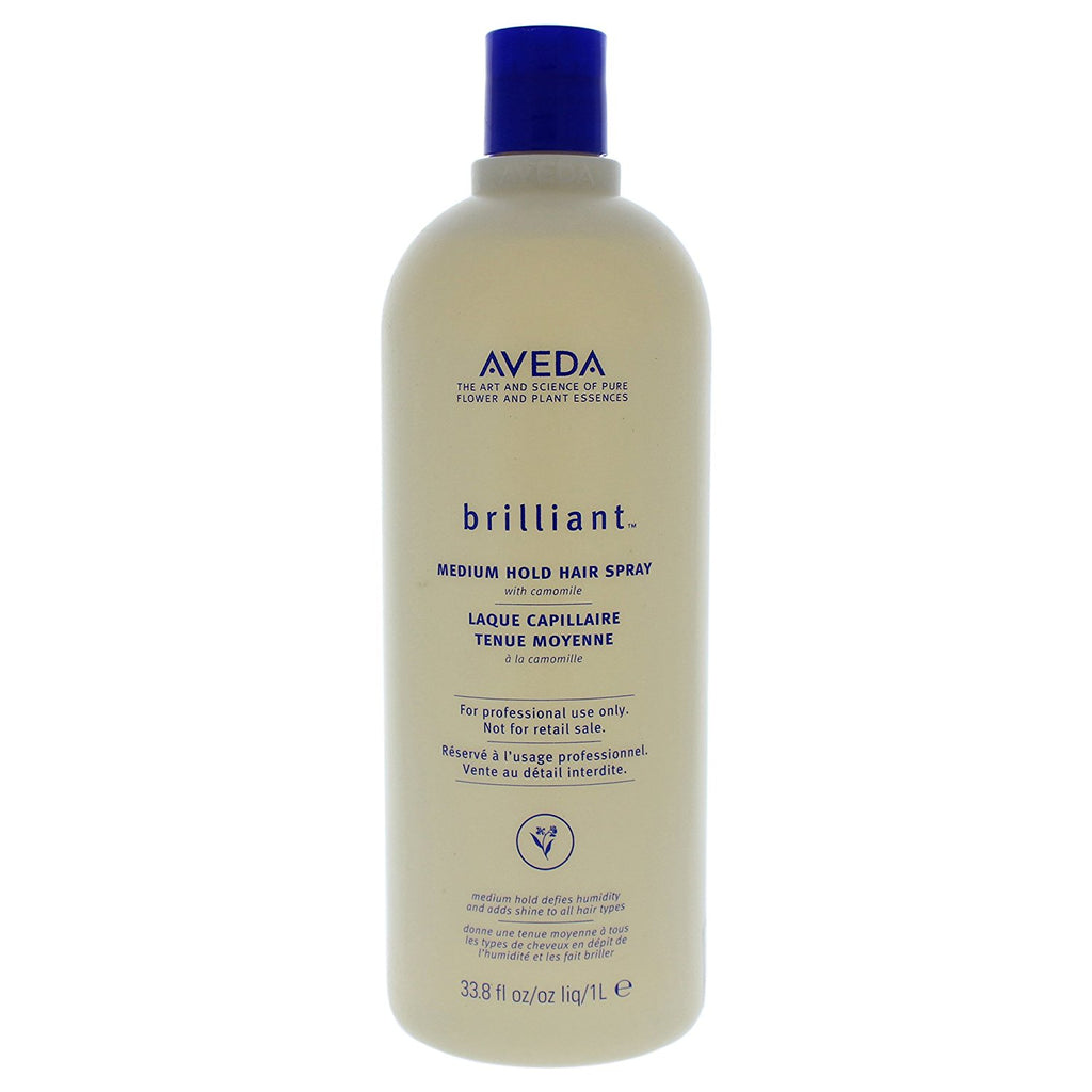 Aveda Brilliant™ Medium Hold Hair Spray with Camomile 1L