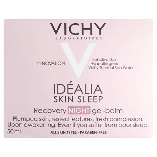Vichy Idealia Skin Sleep Recovery Night Gel-Balm 50ml - Look Incredible