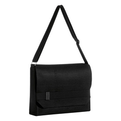 Issey Miyake Parfums Nuit D'Issey Soft Satchel Black Shoulder Messenger Bag