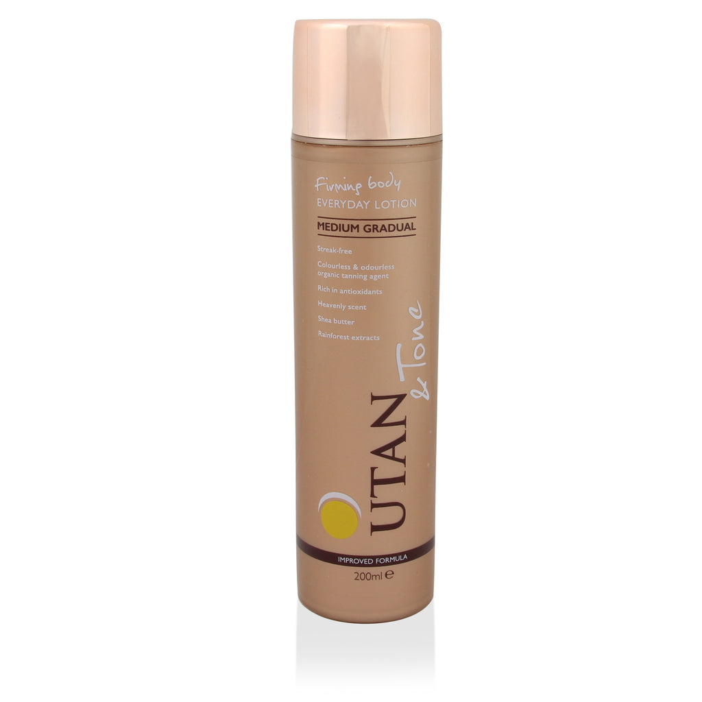 UTan and Tone Everyday Gradual Lotion 200ml - Medium - Look Incredible