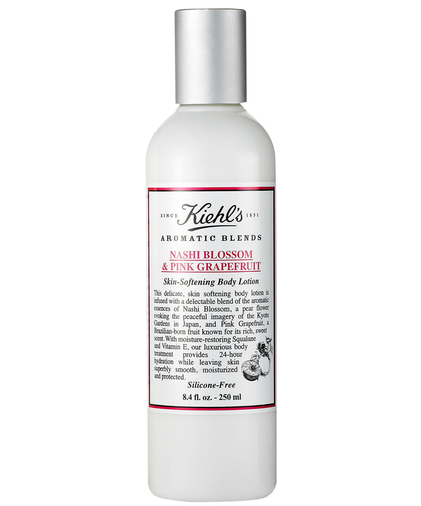 Kiehl's Skin Softening Body Lotion Nashi Blossom & Pink Grapefruit 250ml - Look Incredible