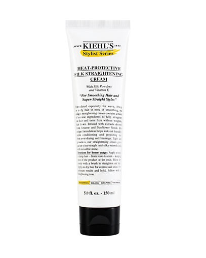 Kiehl's Stylist Series Heat-Protective Silk Straightening Cream 150ml - Look Incredible