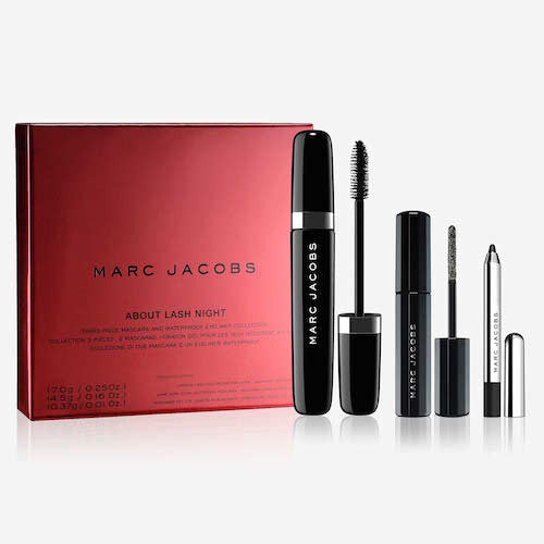 Marc Jacobs About Lash Night 3 Piece Mascara And Eyeliner Collection Set - Look Incredible