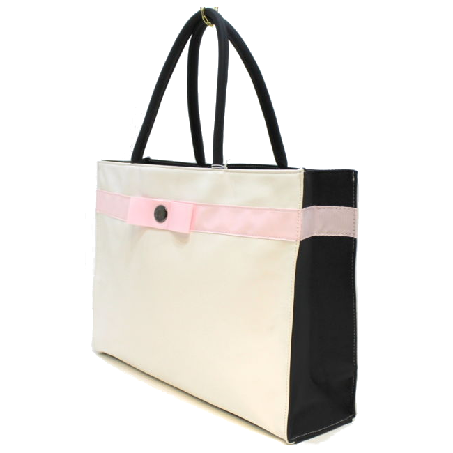 Guerlain La Petite Robe Noir Black & White Ladies Shopping Tote Bag