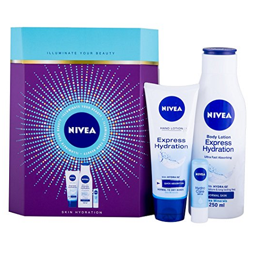 NIVEA Illuminate Your Beauty Skin Hydration Set - Look Incredible