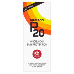 Riemann P20 Once A Day Sun Protection Spray SPF50+ Very High 200ml