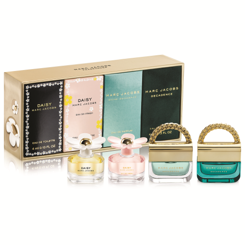 Marc Jacobs Miniature Gift Set 4 x 4ml EDT