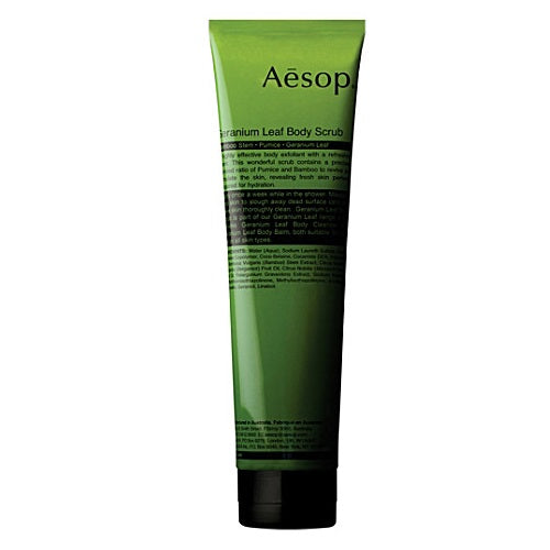 Aesop Geranium Leaf Body Scrub - 170ml