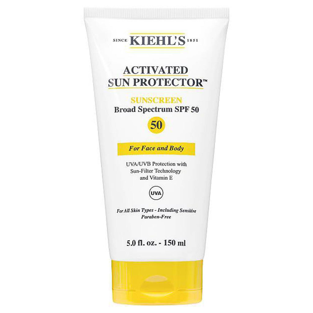 Kiehl's Activated Sun Protector For Face and Body SPF50 150ml