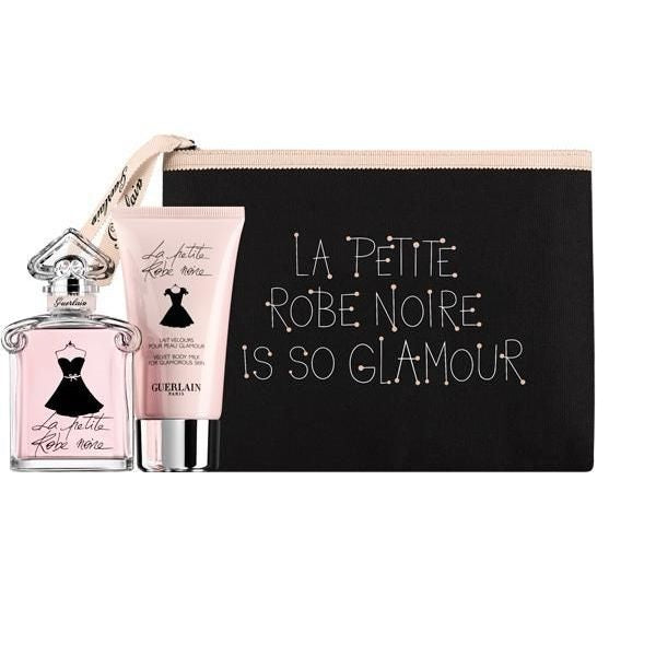 Guerlain La Petite Robe Noire Gift Set 30ml EDT + Body Milk 75ml + Bag