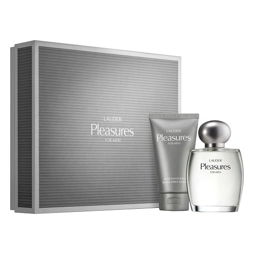 Estee Lauder Pleasures Cologne Spray 100ml For Men 2 Piece Gift Set