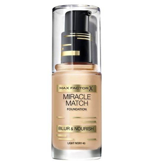 Max Factor Miracle Match Foundation 30ml