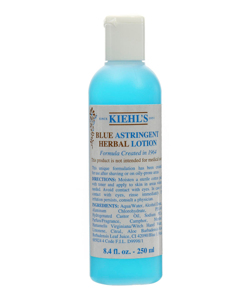 Kiehl's Blue Astringent Herbal Lotion 250ml - Look Incredible